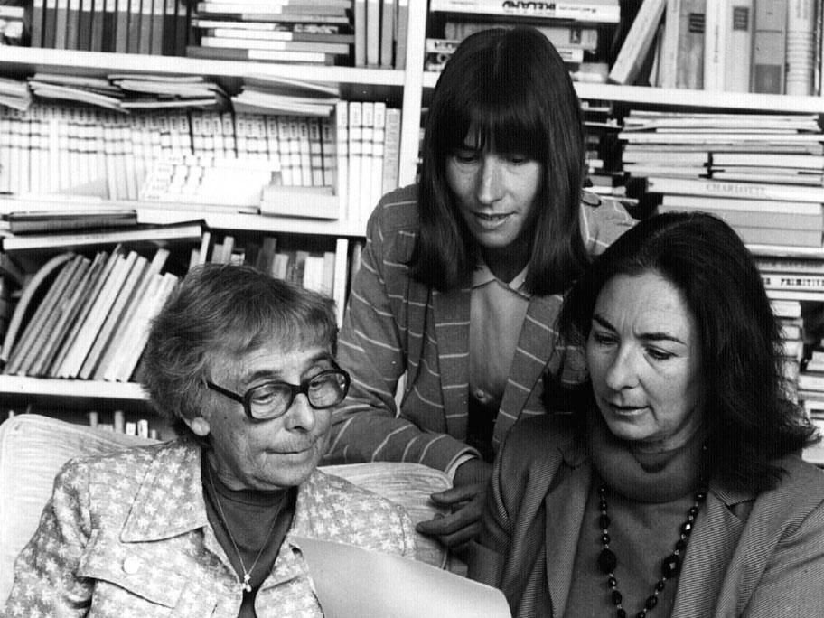 Ruth Liepman, Ruth Weibel und Eva Koralnik, Zürich 1982